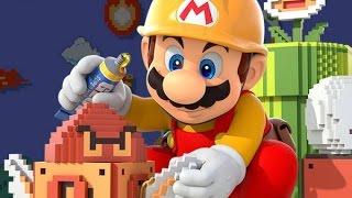 SUPER MARIO MAKER #5 Nova Fase e 10 Mario Challenge - Wii U - Gameplay em Português PT-BR HD