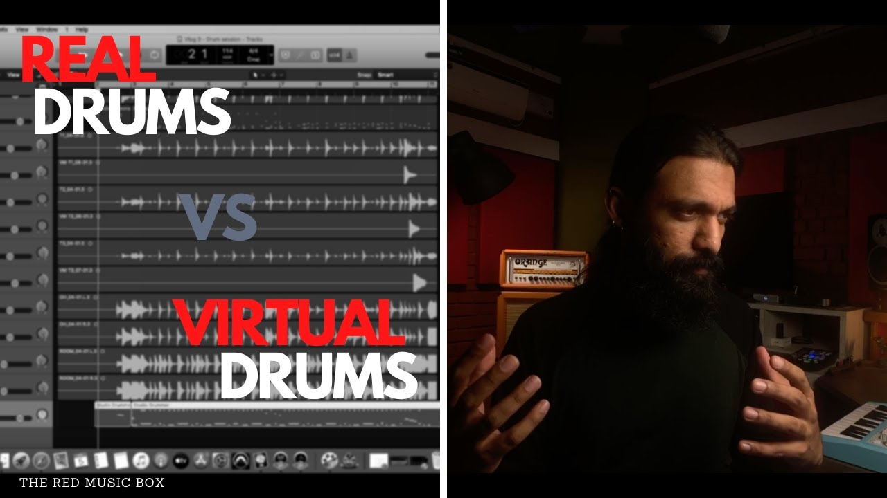 REAL DRUMS VS VIRTUAL DRUMS - Which one do I choose?
