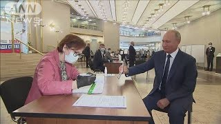 プーチン氏、2036年まで続投可能に 賛成約8割(20/07/02)