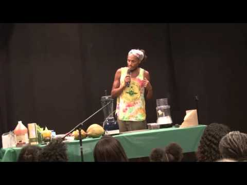 Chef Khepra Anu : The Art of Raw Foods