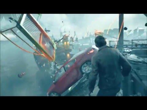 Quantum Break Survive the Collapsing Bridge