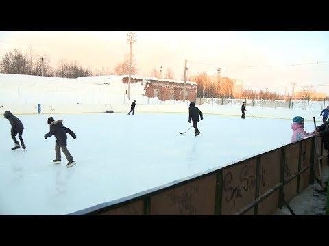 Открытый каток детской спортивной школы «Юность» в Апатитах вскоре преобразится