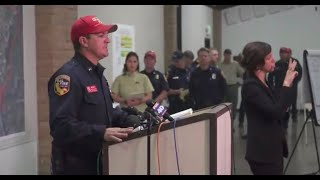 Officials provide update on Camp Fire in California