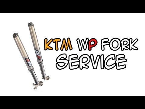 how to change fork seals - ktm exc 250 '06 wp open chamber forks