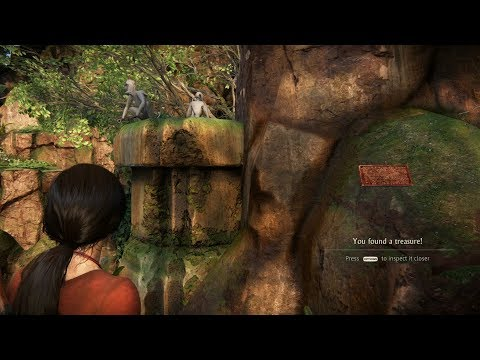 UNCHARTED: The Lost Legacy FULL GAMEPLAY - Part 4 - Finding All The Tokens and MONKEYS!