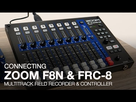 Zoom F8n Multi-Track Field Recorder - With Zoom PCF-8N Protective Case