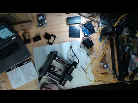 Trinus 3D Printer Build + Enclosure