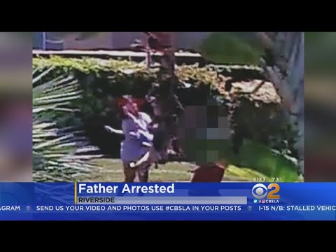 Caught On Video: Father Swings, Drops Child Angrily During Argument