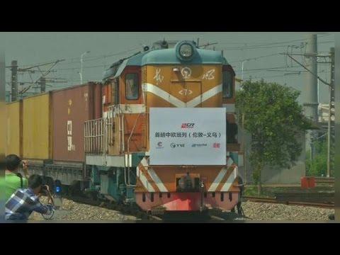 وصول أول قطار من بريطانيا إلى الصين  - نشر قبل 3 ساعة