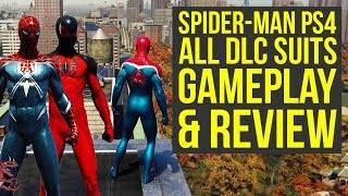 Spider Man PS4 DLC Suits GAMEPLAY & Review + DLC Impressions (Spiderman PS4 DLC Suits)