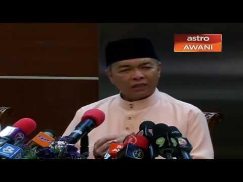 Sidang media bersama Timbalan Perdana Menteri, Datuk Seri Ahmad Zahid Hamidi