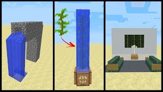 Minecraft: 1.13 Aquatic Update Building Tricks and Tips thumbnail