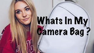 Whats In My Camera Bag ?