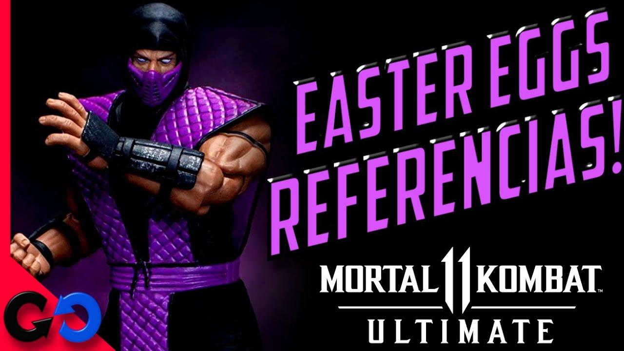 Mortal Kombat 11 Ultimate Easter Eggs y Referencias de RAIN!!