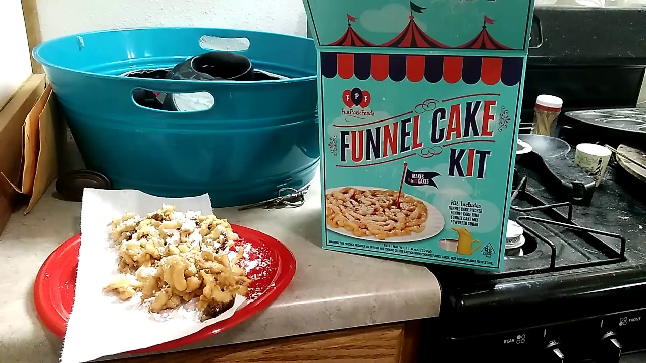 funnel cake kit funnel cake and funnel cake kit box 4418