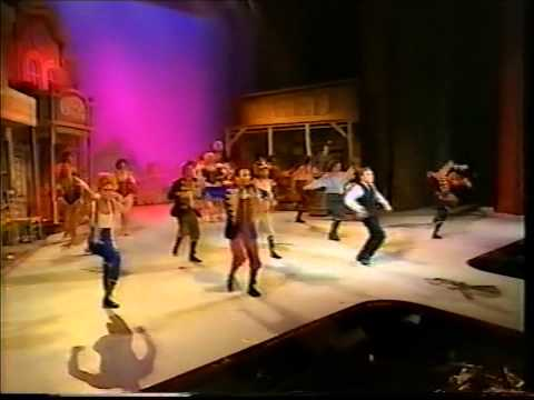 The London cast of Crazy For You closing the 1993 Laurene Olivier Awards