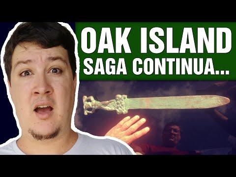 """Oak Island: Busca de Respostas Sobre """"Espada Romana"""" Continua (#283 - Notícias Assombradas)"""