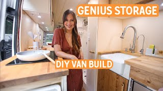 Genius VAN CONVERSION storage solution » Sprinter Van Build