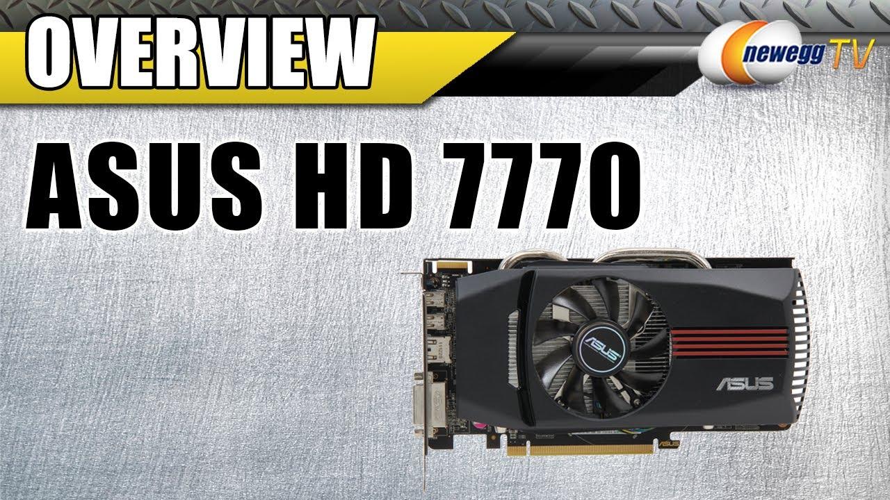 Newegg TV: ASUS AMD Radeon HD 7770 GHz Edition Overclocked ...