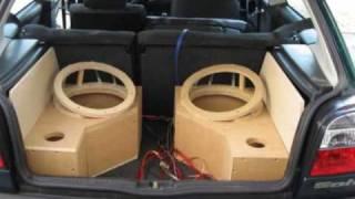 video reserveradkiste f r subwoofer im kofferraum selber bauen ars24com car hifi einbaututorial. Black Bedroom Furniture Sets. Home Design Ideas