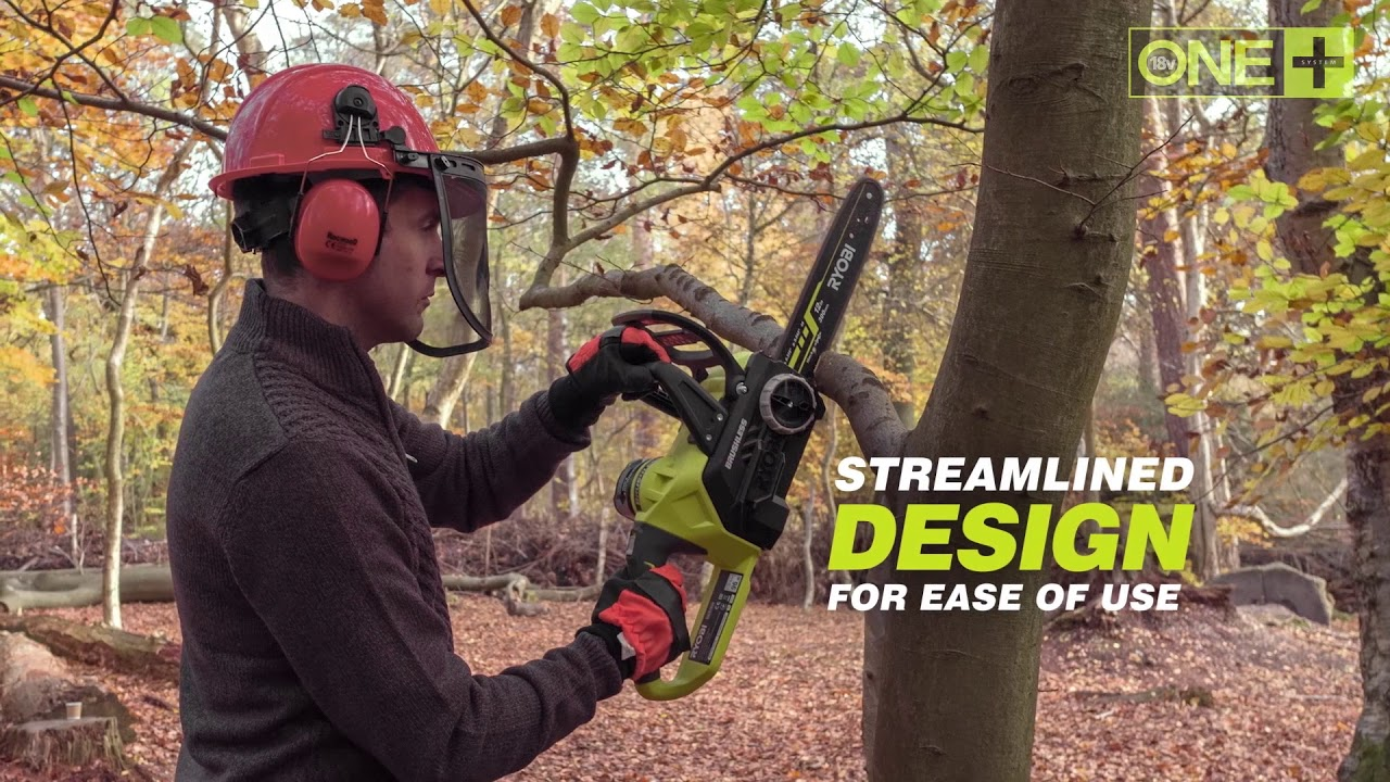 The Brushless ONE+ Chainsaw from Ryobi - OCS1830