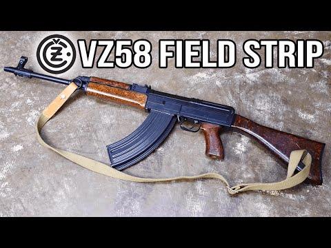 VZ58 Field Strip (NOT AN AK)