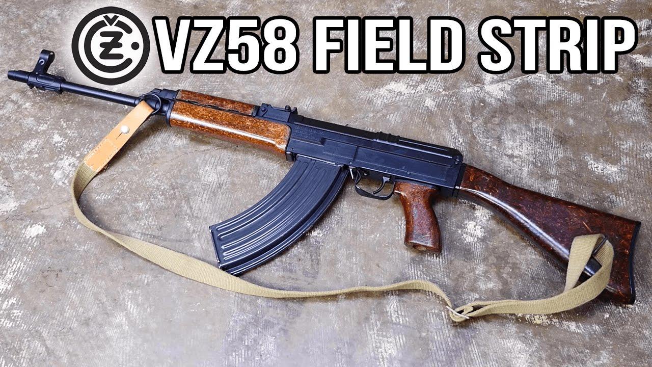 VZ58 Field Strip (NOT AN AK) - YouTube