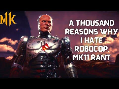 MK11 Ultimate: A Thousand Reasons Why I Hate RoboCop. Mortal Kombat 11 Rant. |
