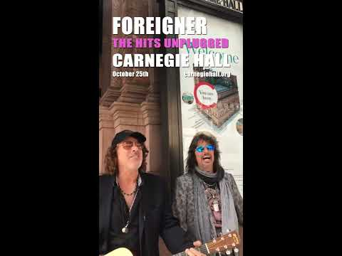 The Hits Unplugged comes to Carnegie Hall