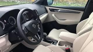 Interiér Škoda Karoq