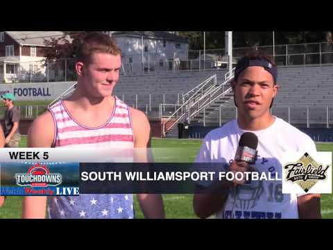 Touchdowns & Tailgates Week 5 2017 South Williamsport & Jersey Shore