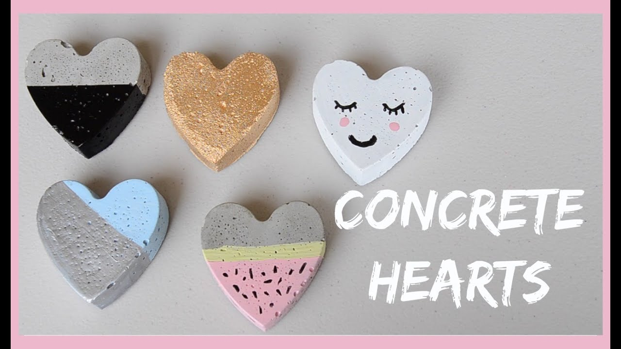 Valentine to Cement Hearts