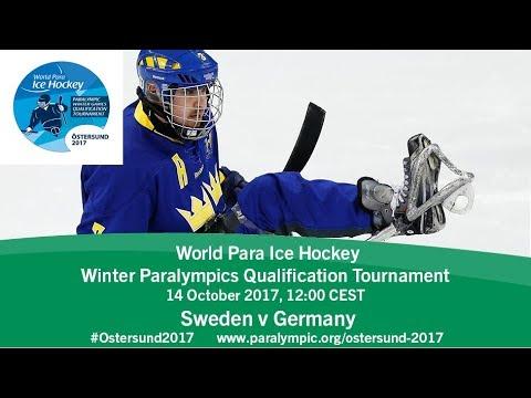Sweden v Germany   PyeongChang 2018 Qualification Tournament   Ostersund