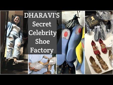 Secret Celebrity Shoe Factory in DHARAVI | Katrina, Priyanka's Shoemaker