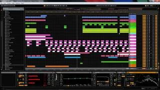 Ableton Live Project - Magic Fullon TEMPLATE Open Project