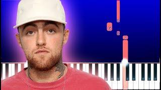 Mac Miller - Everybody (Piano Tutorial)