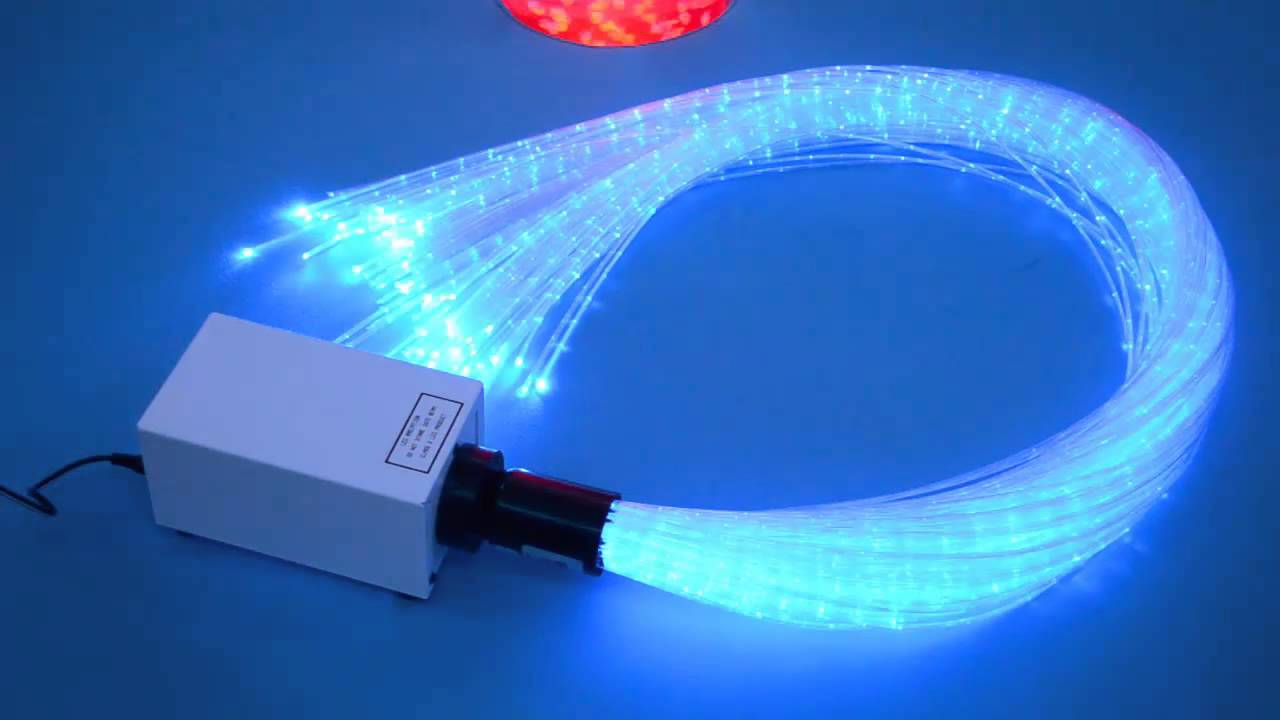 Colour Changing Fibre Optic Light Source
