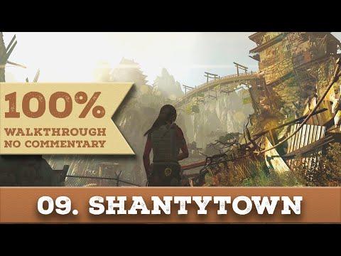 Tomb Raider 2013 Walkthrough [1440p] (100% Completion,Hard) part 9 SHANTYTOWN