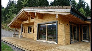 Napapiiri Chalet & Rovaniemi Maisons en Bois en Finlande: maison finlandaise moderne de vos rêves