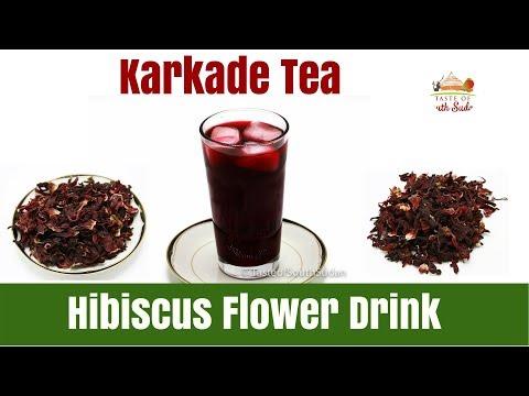 Hibiscus Flower Drink Karkade
