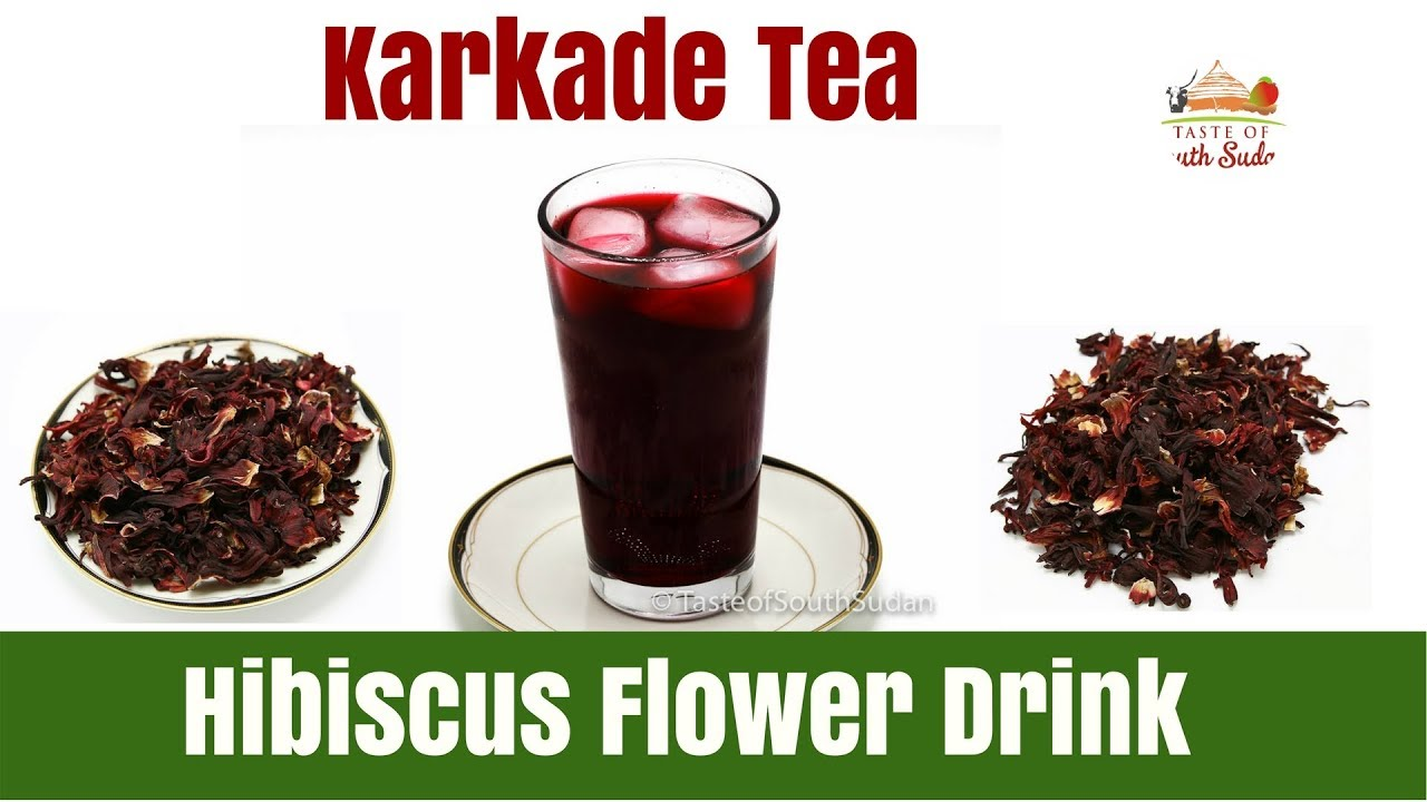 Hibiscus Flower Drink Karkade Youtube