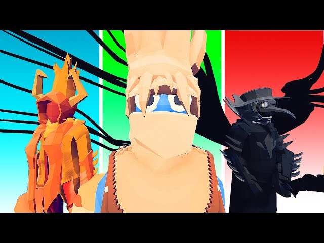 NEW Unit Creator! - I Created an Epic ELEMENTAL FACTION! - TABS Totally Accurate Battle Simulator
