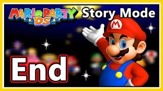 Mario Party DS Walkthrough - Story Mode - Part 11 & Credits (HD 1080p)