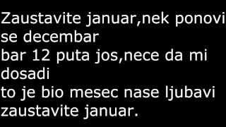 Zeljko Samardjic-Zaustavite januar TEKST