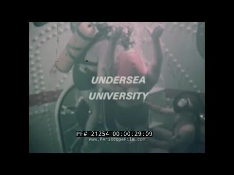 1965 U.S. NAVY SUBMARINE TRAINING SCHOOL  NEW LONDON CONNECTICUT PROMOTIONAL FILM 21254