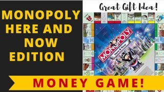 Monopoly: Here and Now Edition by Hasbro Games