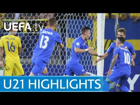 Under-21 highlights: Slovakia v Sweden