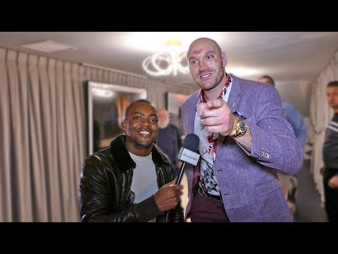 TYSON FURY Just Wanted FAIR SHOT! Judges Should be ASHAMED!!