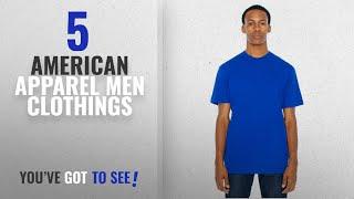 Top 10 American Apparel Men Clothings [ Winter 2018 ]: American Apparel Men 50/50 Crewneck T-Shirt