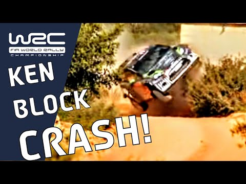 WRC: Rally Portugal - Block Crashes On Shakedown